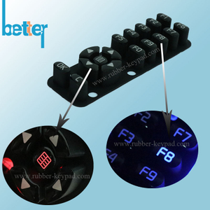 Customize Plastic Rubber Silicone Laser Cut Keypad