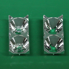 Electroplating Aluminum PC Led lighting cover