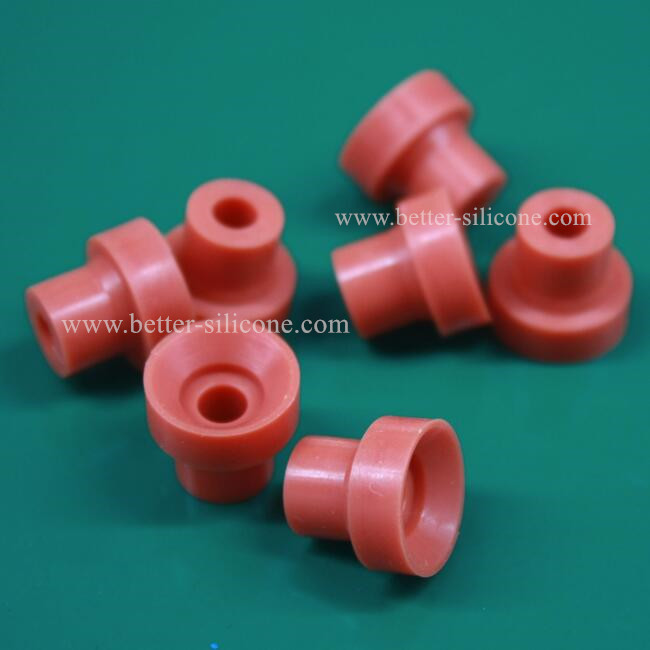 Custom Elastomer Plastic Silicone Rubber Bushing