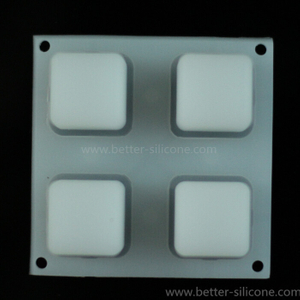 Translucent Silicone Backlight Button Pad