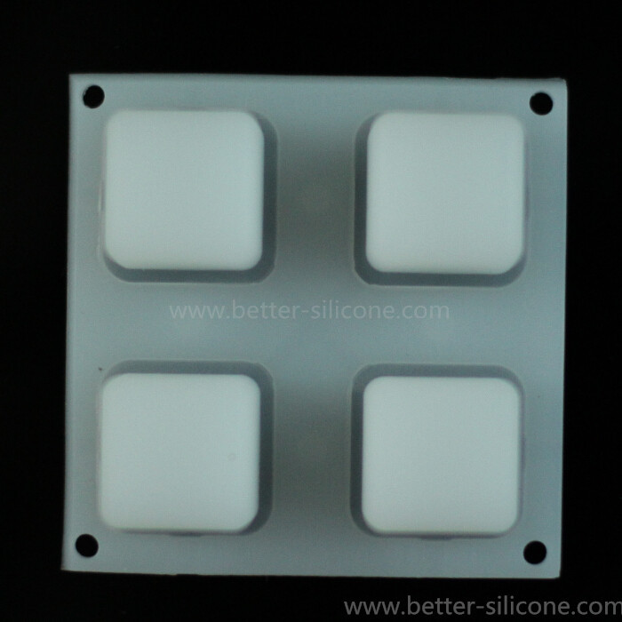 Translucent Silicone Backlight Switch