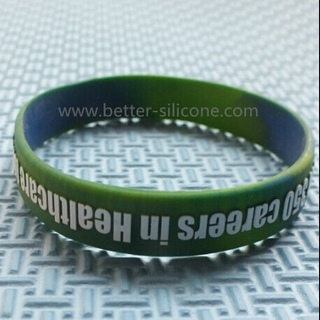Embossed and Color Epoxy Rubber Band