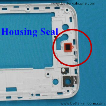 Customized Housing Seal with Backing Adhesive Gum Glue for waterproof and dustproof