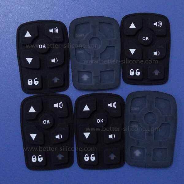 Silicone Laser Carving Keypad