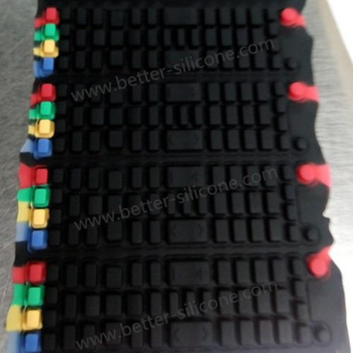 Custom Silicone Rubber Remote Control TV Keys