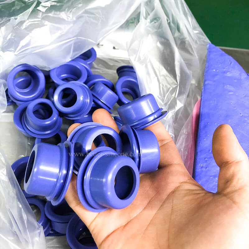 Silicone Compression Moulding for Rubber Bellows