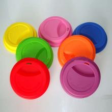 Food Kitchen Fashionable Silicon Rubber Cup Lids
